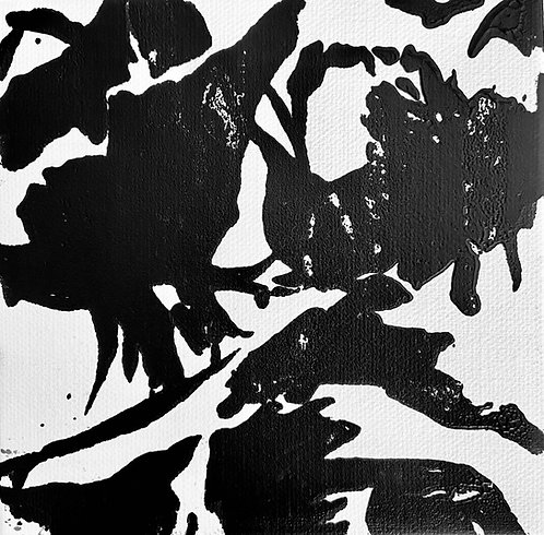 rose bud noir 1 limited edition print