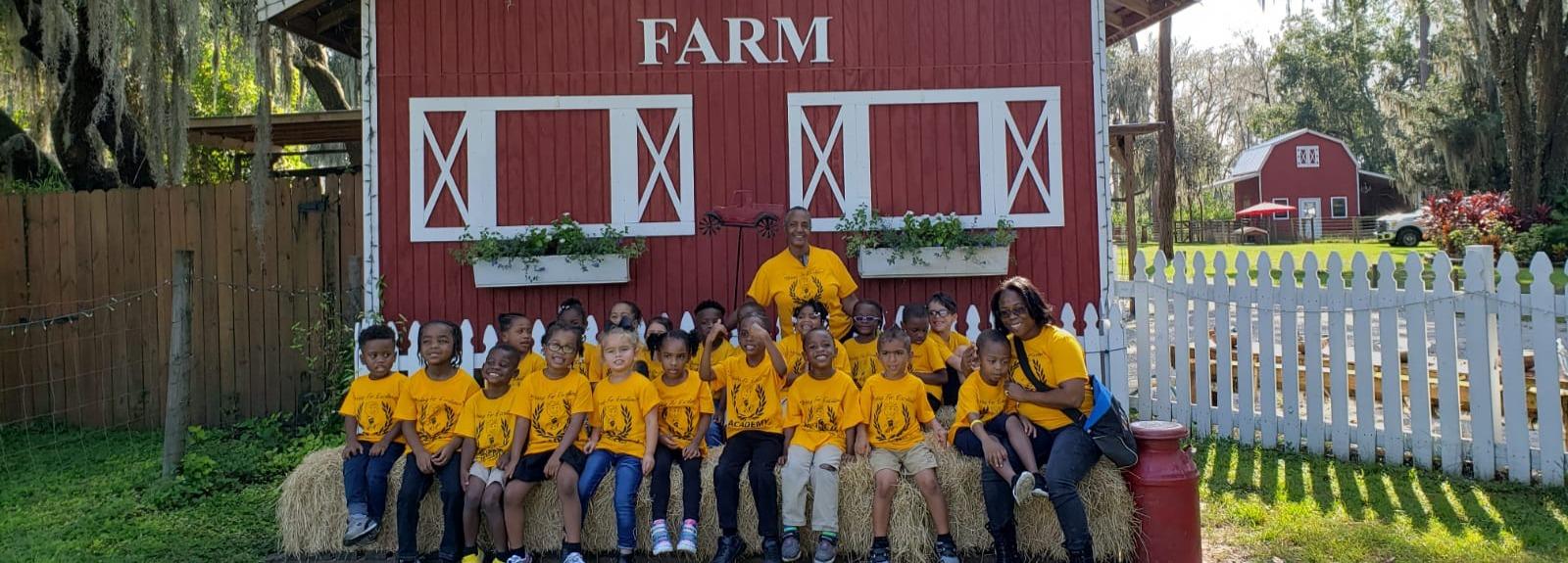 TSOP Kids at the Farm