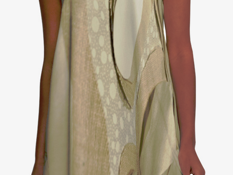 """And why not a """"Linen cells"""" A-Line dress?"""