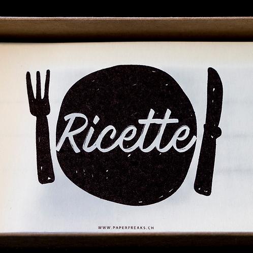 Ricettario - Scatola