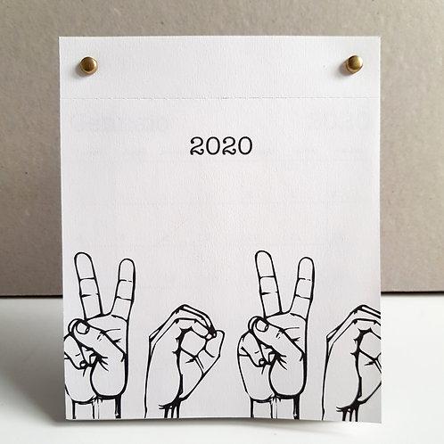 DESKTOP - Calendario 2020
