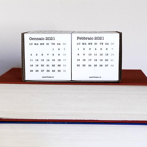 CUBE - Calendario 2021