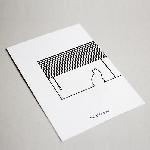 #STAIACASA | Set cartoline Bianco e Nero