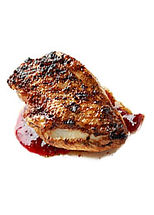 Marinated duck breast