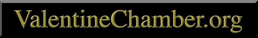 Valentine Chamber.org banner ad  Black &