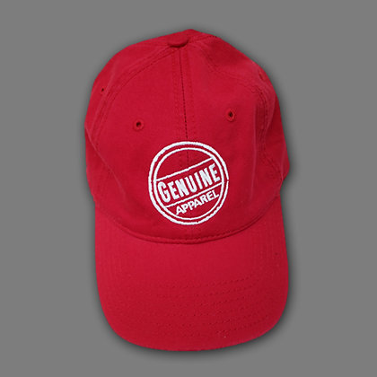Red Stamp Hat