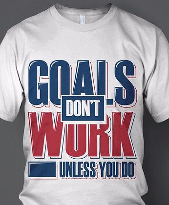 """Men's """"Goals"""" Tee"""