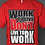 Thumbnail: Men's Red/Blk/Wht Work To Live Tee