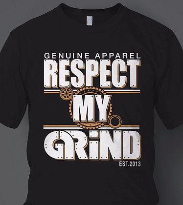 """Men's """"Respect My Grind"""" Tee"""