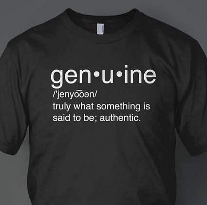 "Men's ""Genuine"" Tee"