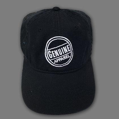 Black Stamp Hat