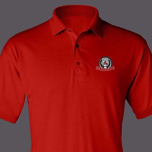 Red Genuine Academy Polo