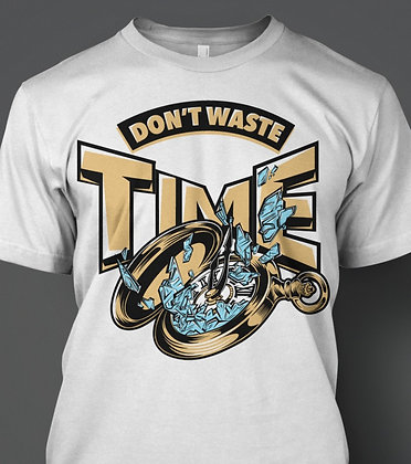 """Men's """"Don't Waste Time"""" Tee"""