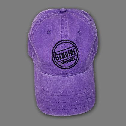 Purple Jean Hat