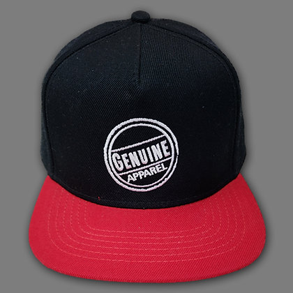 Blk/Red Stamp Snapback