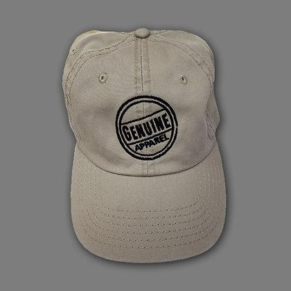 Khaki Stamp Hat