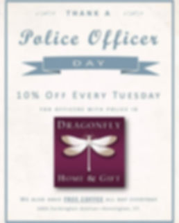 As a thank you to our officers, we now h