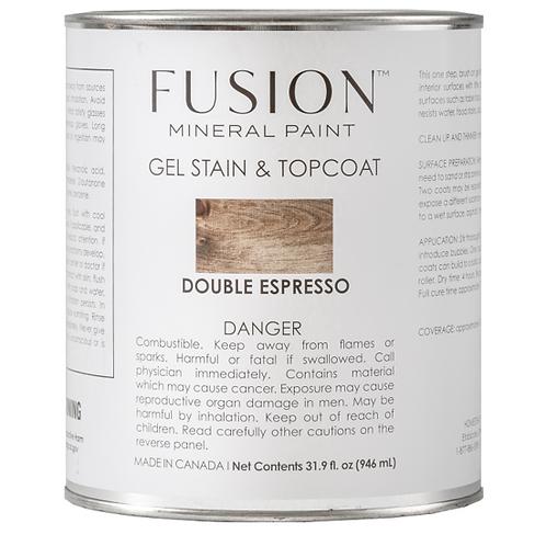 Brush on Gel Stain & Top Coat - Double Espresso