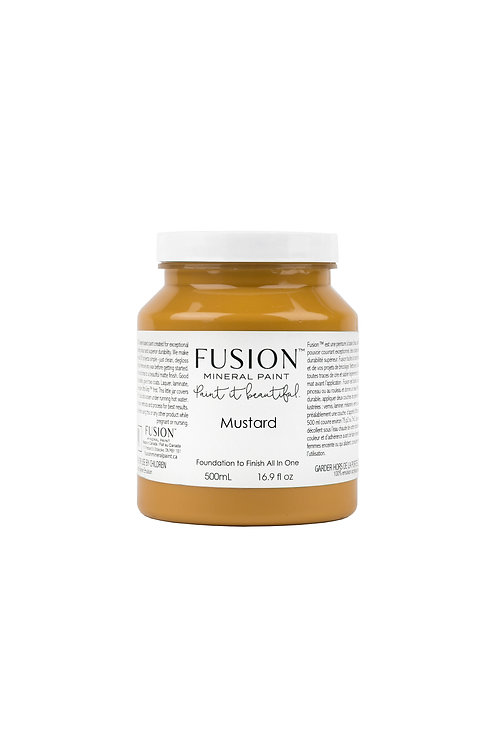 Fusion Mineral Paint - Mustard
