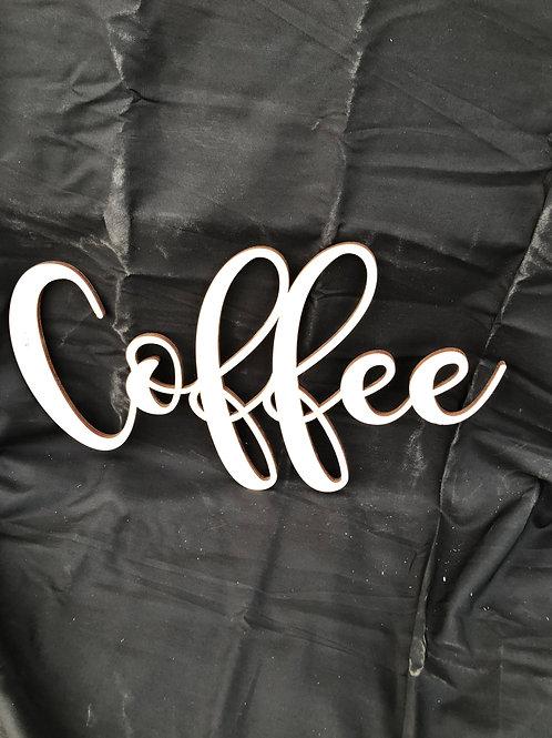 Coffee DIY Cutout