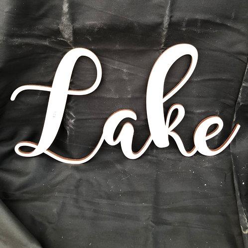 Lake DIY Cutout