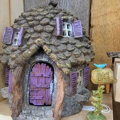 Fairy Garden House & Mailbox