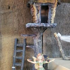 Fairy Garden Tree House, Courtney Fairy, Spot the Dog & Ladder