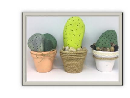 KIDS DIY - Rock Cacti