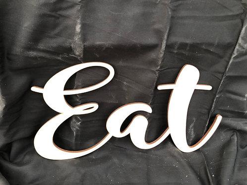 Eat DIY Cutout
