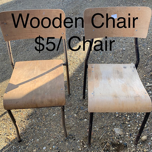Wooden Chair - As Is