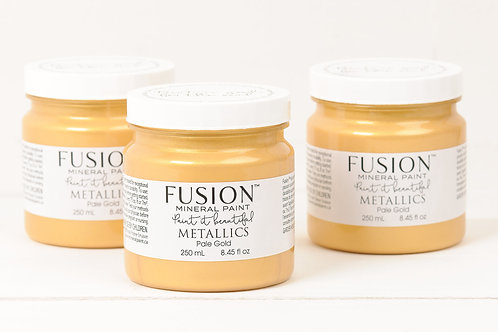 Fusion Mineral Paint Metallics - Pale Gold