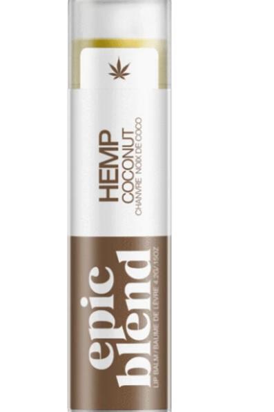 Coconut Hemp Lip Balm