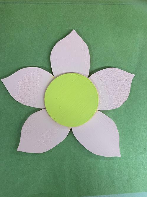 DIY - Wooden Flower