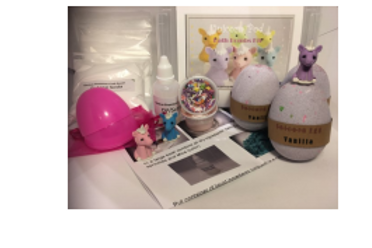KIDS DIY- Unicorn Bath Bomb