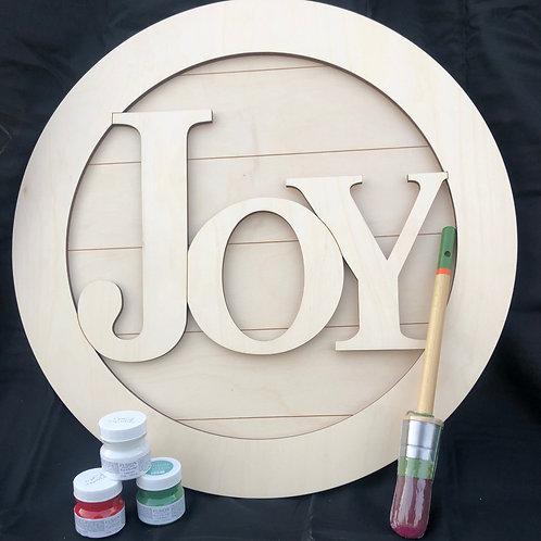 Joy Wreath DIY Kit