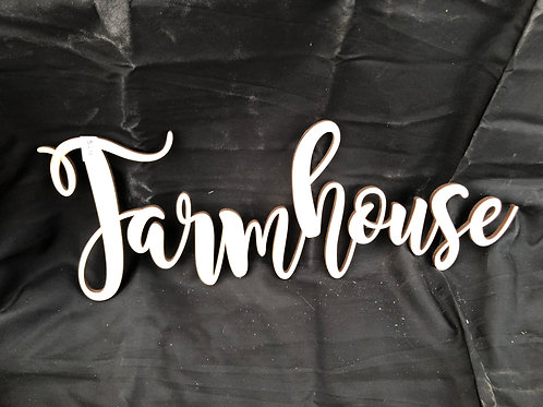 Farmhouse DIY Cutout