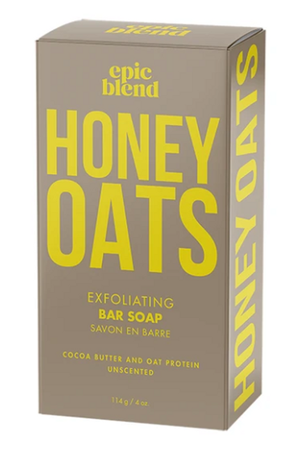 Honey Oats Exfoliating Bar Soap