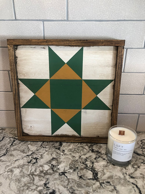 Ohio Star Barn Quilt Block