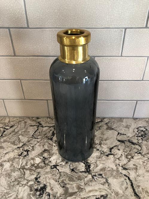 Dark Blue Light up Bottle