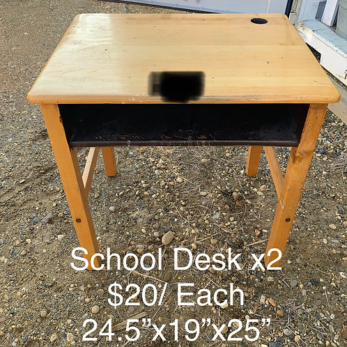 School Desk - As Is
