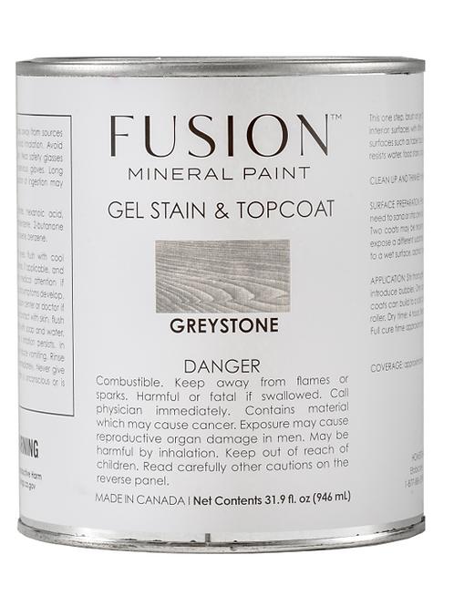 Brush on Gel Stain & Top Coat - Greystone