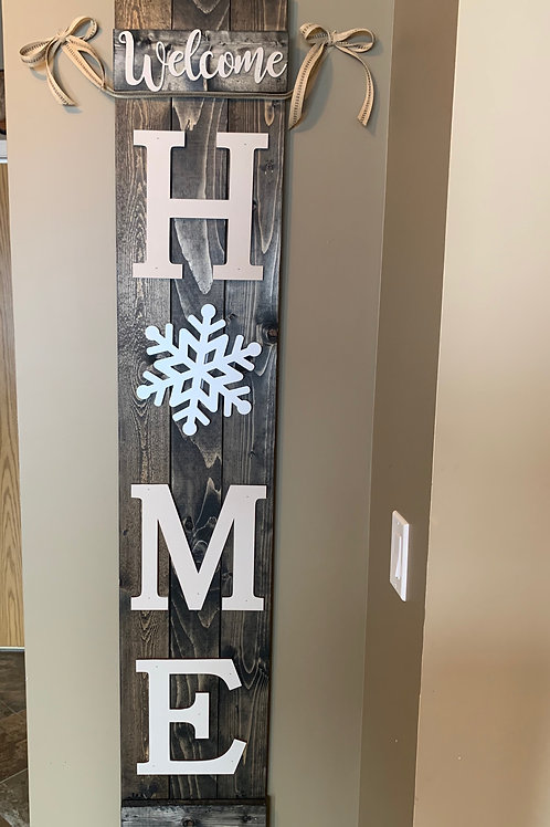 DIY-Interchangeable Home Sign
