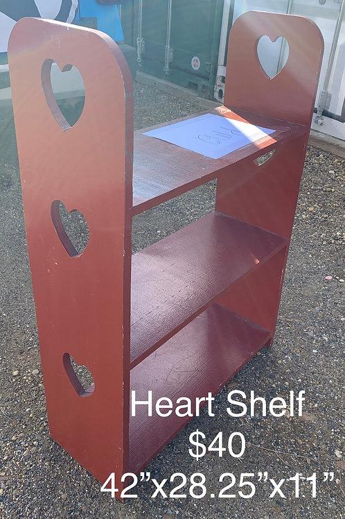 Heart Shelf - As Is