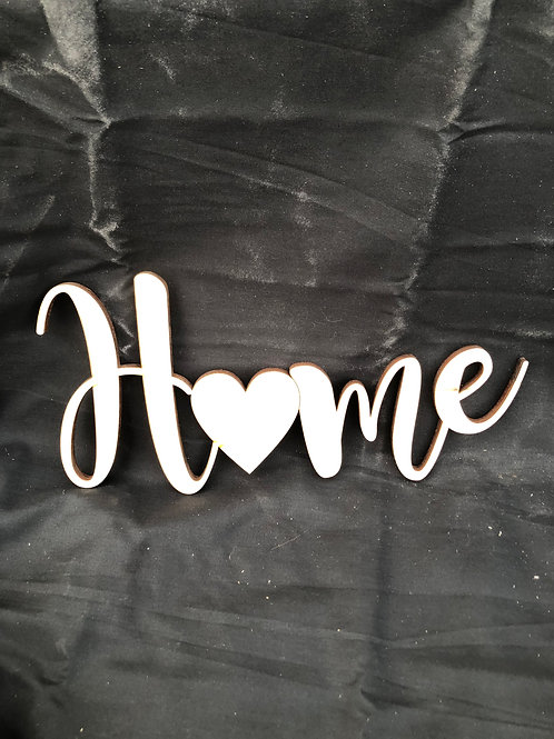 Home with Heart DIY Cutout