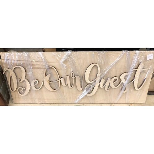 DIY-Be Our Guest