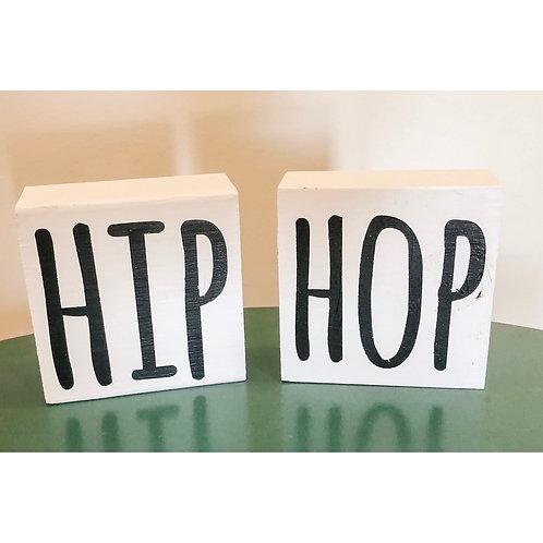 HIP HOP Set of 2