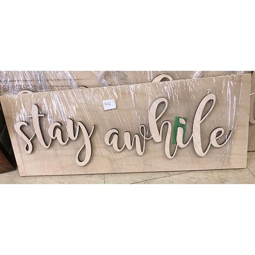 DIY - Stay Awhile