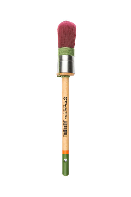 Staalmeester Round 100% Synthetic Brush #18