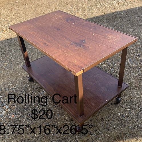 Rolling Cart - As Is