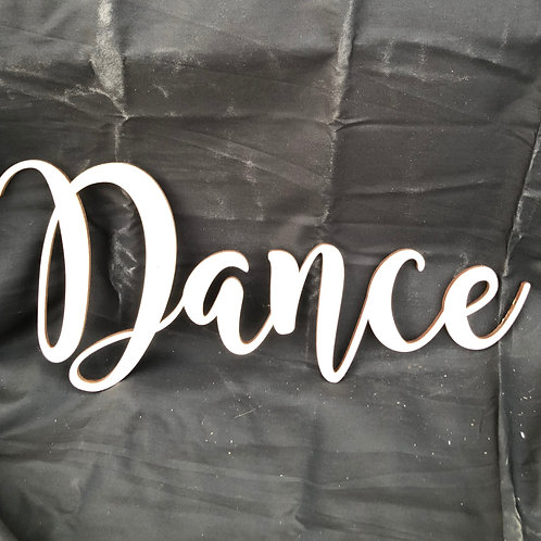 Dance DIY Cutout